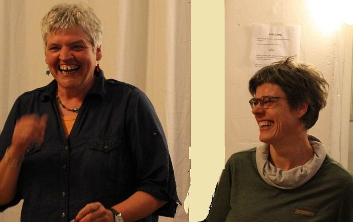 Annette Kayser uuuuund Anke Hundius